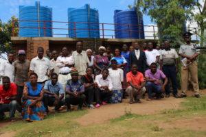 Michesi Water Scheme Handover